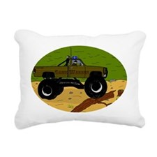 Gamewardeninwoods2 Rectangular Canvas Pillow