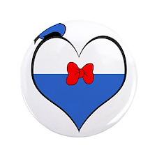 """I heart Donald Duck 3.5"""" Button"""