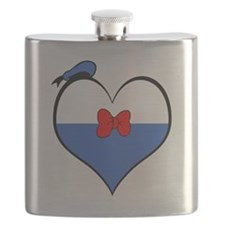 I heart Donald Duck Flask