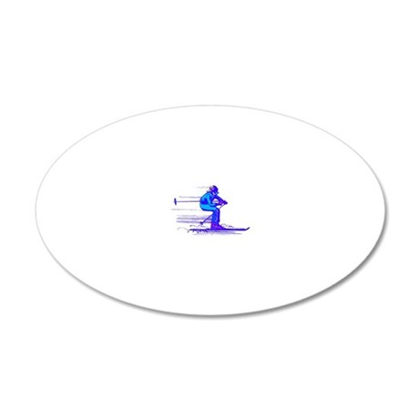 2114112 20x12 Oval Wall Decal