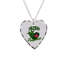 IrishPrincessgreenpk Necklace