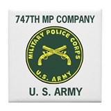 747th Military Police Co Coffee Coaster