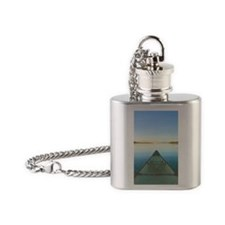 Lake Notecards_edited-1 Flask Necklace