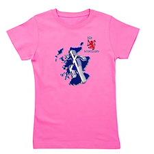 Scotland sprinter running Girl's Tee