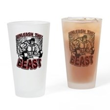 Unleash The Beast 2 Drinking Glass