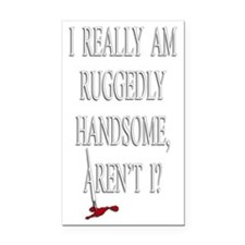 HANDSOME copy Rectangle Car Magnet