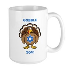PERSONALIZE Thanksgiving Hanukkah Mug