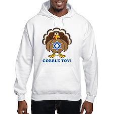 Funny Thanksgiving Hanukkah 2013 Hoodie