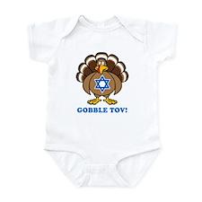 Funny Thanksgiving Hanukkah 2013 Infant Bodysuit