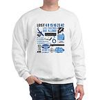 lost-quotes-forlights Sweatshirt