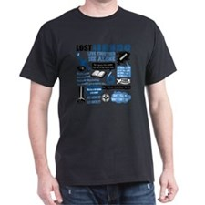 lost-quotes-forlights T-Shirt