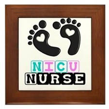 NICU Nurse 4 Framed Tile