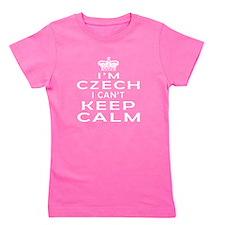I Am Czech I Can Not Keep Calm Girl's Tee
