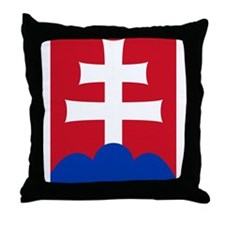 slovakiaEmblem2 Throw Pillow