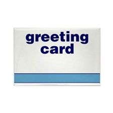 Generic-Greeting-Card Rectangle Magnet