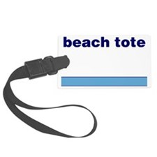 Generic-Beach-Tote Luggage Tag