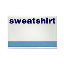 Generic-Sweatshirt Rectangle Magnet