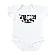 Welder's Girl Infant Bodysuit