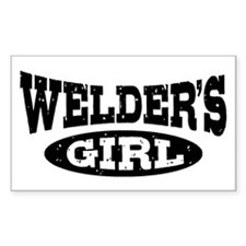 Welder's Girl Decal