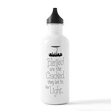 The cracked let in lig Water Bottle