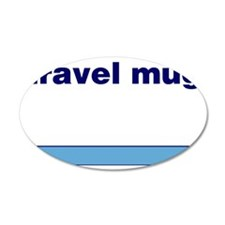 Generic-Travel-Mug Wall Decal