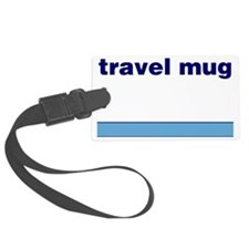 Generic-Travel-Mug Luggage Tag