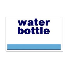 Generic-Water-Bottle Wall Decal