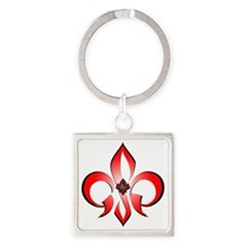 GSP_Brielle Square Keychain