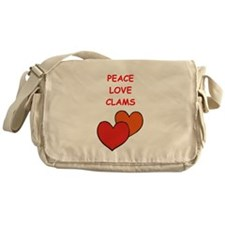 CLAMS Messenger Bag