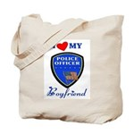 Police Boyfriend Tote Bag