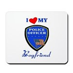 Police Boyfriend Mousepad