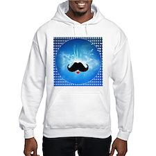 Speak LOVE out loud moustache 2 Hoodie Sweatshirt