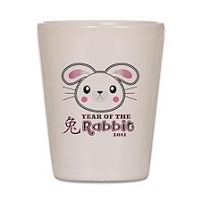 Year of Rabbit 2011 Shot Glass