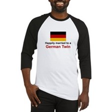 German Twins (Married To) Baseball Jersey