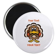 "Personalize Little Gobbler 2.25"" Magnet (10 pack)"