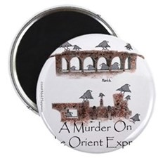 Murder on the Oriental Express 10x10 Appare Magnet