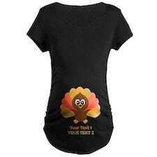 Personalize Little Turkey T-Shirt