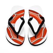 Life Preserver Flip Flops