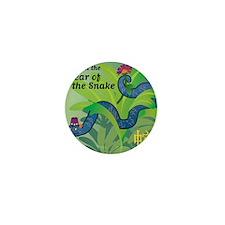 SnakeTshirt Mini Button