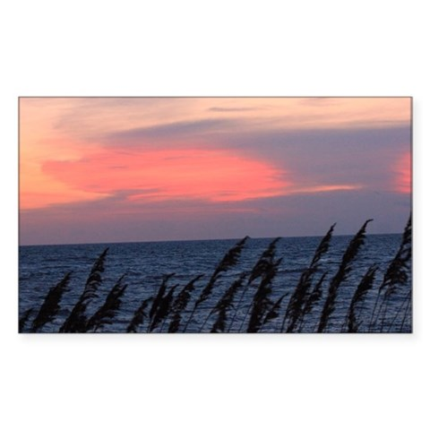 Outer Banks Sunrise Decal