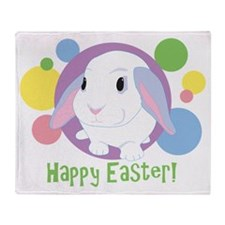 easterbunny Throw Blanket