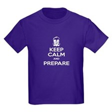 Keep Calm Prepare Gas Mask T