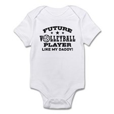 Future Volleyball Player Like My Daddy Infant Body