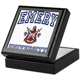EMERY University Keepsake Box