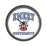 EMERY University Wall Clock
