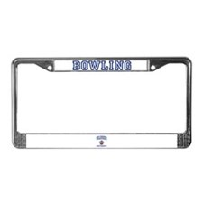 BOWLING University License Plate Frame