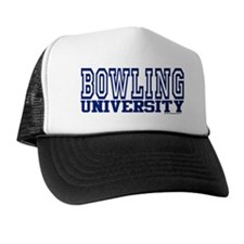 BOWLING University Trucker Hat