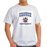 CROUCH University Ash Grey T-Shirt
