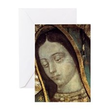 Our Lady of Guadalupe - close up Greeting Card