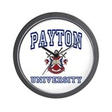 PAYTON University Wall Clock